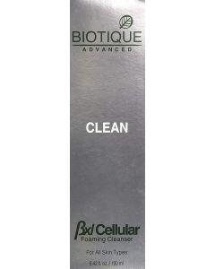 Biotique Clean BXL Cellular Foaming Cleanser-200Ml