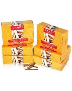 Vaadi Herbals Divine Soap with Turmeric Gift Box- (10 x 75 gms)