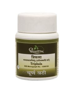 Dhootapapeshwar Triphala Churna - 1000 tab