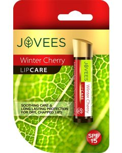 Jovees Herbals Winter Cherry Lip Care-4gm