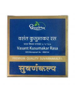 Dhootapapeshwar Vasant Kusumakar Rasa-30tab