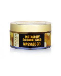 Vaadi Herbals 24 Carat Gold Massage Gel - 24 carat Gold Dust -50 gms
