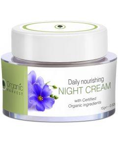 Organic Harvest Daily Nourishing Night Cream - 15gm