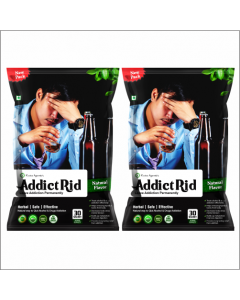 Kaahan Ayurveda Addict Rid-30 Sachet Pack of 2pc