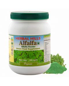 Herbal Hills Alfalfa powder-100gm