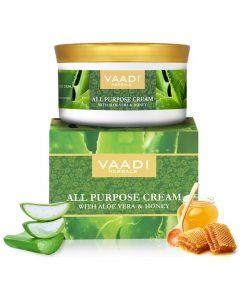Vaadi Herbals All Purpose Cream with Aloe Vera, Honey & Manjistha-150 gms