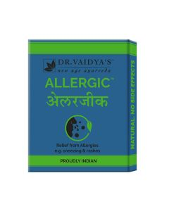 Dr. Vaidya's Allergic Pills Pack of 3 - Allergy & Cold-72 Pills