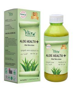Vitro Naturals Aloe Health + Juice-1Ltr