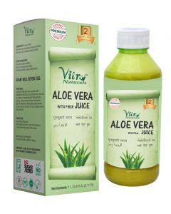Vitro Naturals  Aloe Vera Juice with fiber-1Ltr
