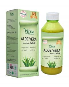 Vitro Naturals  Aloe Vera Juice with fiber-500ml