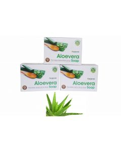Aranyaa Aloevera Soap-75gm Pack of 3pc
