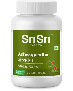 Sri Sri Tattva Ashwagandha 500Mg Tablet - 60 Count