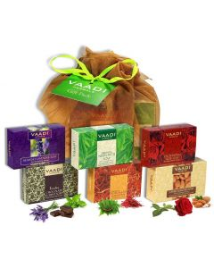 Vaadi Herbals Assorted Soap Gift Box (10 x 75 gms)