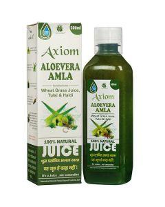 Axiom Aloevera Amla Juice-500ml Pack of 2pc