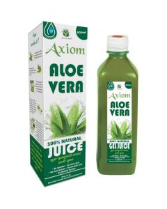 Axiom Aloevera Juice-500ml Pack of 2pc