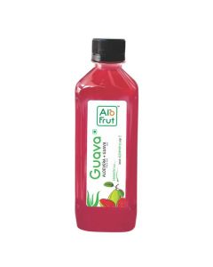 Axiom AloFrut Guava Aloevera Juice-1000ml Pack of 2pc