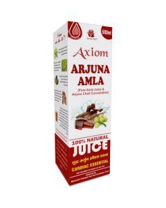 Axiom Arjuna Amla Juice-500ml Pack of 2pc