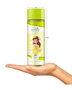 Biotique Bio Almond Oil Baby (Baby Princess Massage Oil)-200ml