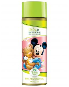 Biotique Bio Almond Oil Baby (Mickey Massage Oil)-200ml