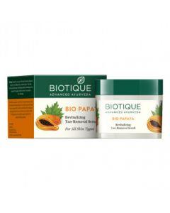 Biotique Bio Papaya Revitalizing Tan Removal Scrub-75gm