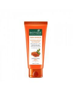 Biotique Pink Lentils Matte Look Sun Block Sunscreen Spf 40 Orange- 50ml