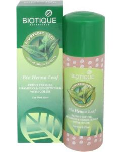 Bio Heena Leaf (Hair Cleanser)  (Shampoo & Conditioner)-190ml