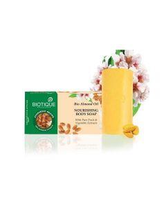 Biotique Bio Almond Oil Nourishing Body Soap-150gm