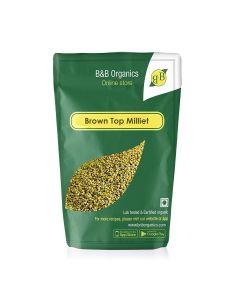 B&B Organics Brown Top Millet-500gm