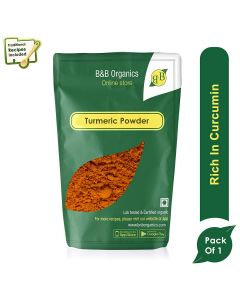 B&B Organics Turmeric Powder-250gm