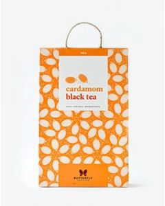 Butterfly Ayurveda Cardamom black tea-100gm