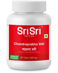 Sri Sri Tattva Chandraprabha Vati 300Mg Tablet - 60 Count