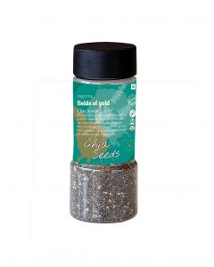Pristine Fields of Gold Organic Chia Seeds-100gm (Jar)
