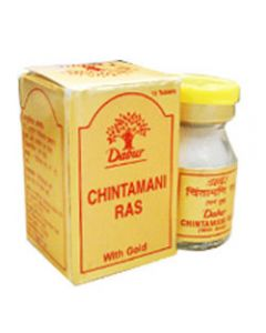 Dabur Chintamani Ras (Gold)-10tab
