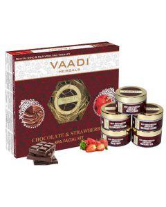 VAADI HERBALS Chocolate & Strawberry SPA Facial Kit-270 gms