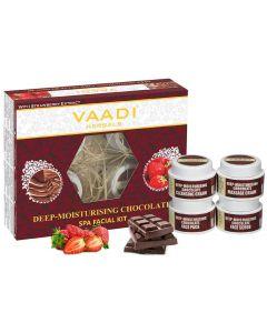 VAADI HERBALS Chocolate & Strawberry SPA Facial Kit-70 gms
