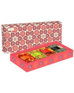 Vaadi Herbals Classic Fruit Collection - 4 Premium Herbal Handmade Soap Gift Box -(75 gms x 4)