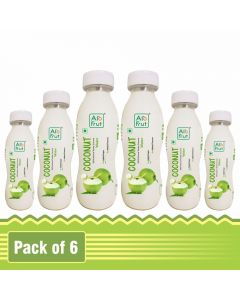 Axiom AloFrut 100% Natural Tender Coconut Water-200ml Pack of 6pc