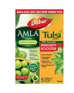 Dabur Amla Juice-1000ml With  Tulsi Drops-30ml