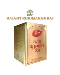 Dabur Vasant Kusumakar Ras (With Gold & Pearl) - 100 Tablets