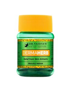 Dr. Vaidya's Dermaherb Pills Pack of 2 Skin Allergies & Eczema-60 pills