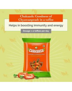 Dr. Vaidya's Chakaash - Chyawanprash Toffee (Pack of50 toffees X 2)