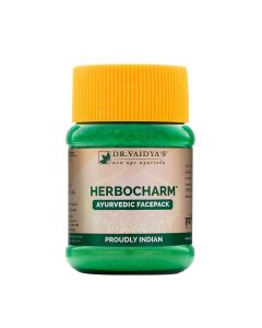 Dr. Vaidya's Herbocharm Powder Pack of 2(100gm) Facepack for Clear Skin