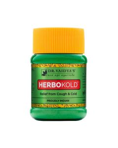 Dr. Vaidya's Herbokold Powder Pack of 2 (100gm) Cold & Cough