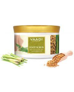 Vaadi Herbals Foot Scrub With Fenugreek And Lemongrass Oil-500 gms