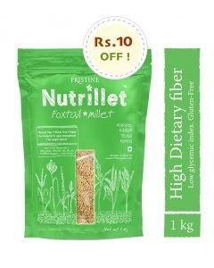 Pristine Nutrillet Foxtail Millet-500gm Pack of 2pc