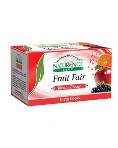 Naturence Herbals Fruit Fair Bleach Cream-200 gm