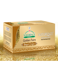 Naturence Herbals Golden Faire Bleach Cream-200 gm
