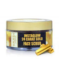 Vaadi Herbals 24 Carat Gold Scrub - Sandalwood & Turmeric-50 gms