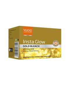 Vlcc Insta Glow Gold Bleach-30gm