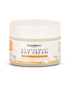 Greenberry Organics Bio Active Bright Day Cream-50Gm